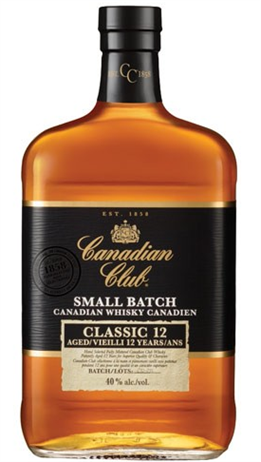 Canadian Club Whisky Small Batch Classic 12 Year Old 80@